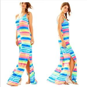 NWT Lilly Pulitzer Gigi Maxi Beach Dress